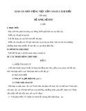 Giáo án môn Tiếng Việt lớp 1 sách Cánh Diều - Bài tập đọc: Sẻ anh, sẻ em