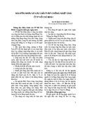 Nguyên nhân và các giải pháp chống ngập úng ở TP. Hồ Chí Minh