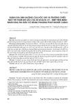 Đánh giá ảnh hưởng của hốc khí và trường chiếu nhỏ tới phân bố liều của kế hoạch JO - IMRT trên bệnh nhân ung thư đầu cổ bằng phương pháp monte carlo