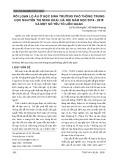 Rối loạn lo âu ở học sinh trường phổ thông trung học Nguyễn Thị Minh Khai, Hà Nội năm học 2018-2019 và một số yếu tố liên quan