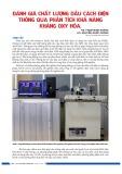 Đánh giá chất lượng dầu cách điện thông qua phân tích khả năng kháng oxy hóa