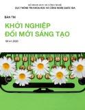 Tạp chí Khởi nghiệp đổi mới sáng tạo - Số 41/2020