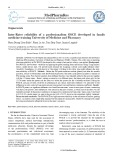 Inter-rater reliability of a professionalism OSCE developed in family medicine training University of Medicine and Pharmacy