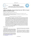 Validity and reliability of neonatal infant pain scale (NIPS) in neonatal intensive care unit in Vietnam