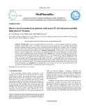 Direct cost of treatment in patients with acute st-elevation myocardial infarction in Vietnam