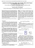 Đánh giá giải pháp giảm nhiễu cho tín hiệu tiếng nói sử dụng các phép biến đổi Wavelet