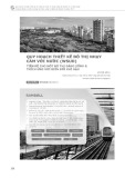 Quy hoạch thiết kế đô thị nhạy cảm với nước (WSUD) – Tiền đề cho một đô thị đáng sống và thích ứng với biến đổi khí hậu