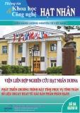 Tạp chí Thông tin khoa học và công nghệ hạt nhân: Số 58/2019