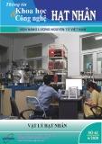Tạp chí Thông tin khoa học và công nghệ hạt nhân: Số 63/2020