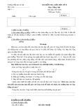 Đề thi giữa học kì 2 lớp 3 môn Tiếng Việt năm 2019-2020 - Trường Tiểu học Lê Lợi