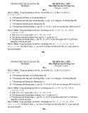 Đề kiểm tra 1 tiết Hình học lớp 10 chương 3 có đáp án - THPT Thị xã Quảng Trị