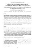 Quản trị công ty và quản trị lợi nhuận tại Việt Nam: Tiếp cận từ phân tích tổng hợp