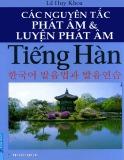 Nguyên tắc luyện phát âm tiếng Hàn