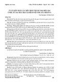 Tỷ lệ chấp nhận các biện pháp tránh thai hiện đại ở phụ nữ sau phá thai tại Bệnh viện Phụ sản Mêkông