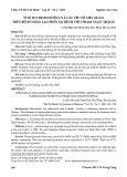 Tỉ lệ suy dinh dưỡng và các yếu tố liên quan trên bệnh nhân lao phổi tại Bệnh viện Phạm Ngọc Thạch