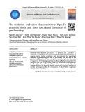 Đặc tính môi trường oxy hóa - khử của granitoid khối Ngọc Tụ và tính chuyên hóa địa hóa của chúng