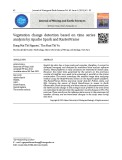 Đánh giá biến động lớp phủ thực vật dựa trên phân tích chuỗi thời gian với Apache Spark và RasterFrames