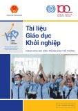 Tài liệu Giáo dục khởi nghiệp dùng cho học sinh trung học phổ thông