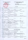Đề thi thử vào lớp 10 THPT môn Toán năm 2020-2021 - Sở GD&ĐT Yên Bái