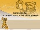 Bài giảng Kinh tế quốc tế: Chương 5(tt) - ThS. Nguyễn Thị Vũ Hà