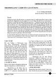 Theophylline và khuyến cáo sử dụng