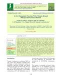 In vitro management fusarium wilt of tomato through biological and chemical methods