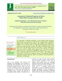 Assessment of chemical properties of soil in chaka block Prayagraj district, India