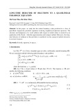 Long-time behavior of solutions to a quasilinear parabolic equation