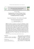 Implementation of local wisdom values of piil pesenggiri as character education in Indonesian history learning