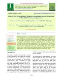Effect of zinc, iron and their methods of application on growth and yield of Pearlmillet (Pennisetum glaucum L.)