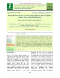 Drying behavior of osmo-convective drying of carrot slices and quality characteristics of dehydrated products