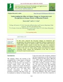Understanding the effect of climate change on temperature and precipitation in Sirmaur district of Himachal Pradesh