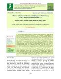 Influence of farmyard manure and nitrogen on performance of Bt cotton (Gossypium hirsutum L.)