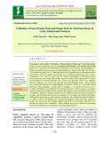 Utilization of sweet potato peels and potato peels for the department of value added food products