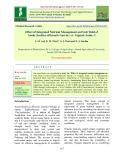 Effect of integrated nutrient management on fruit yield of aonla (Emblica officinalis Gaertn.) cv. gujarat aonla -1