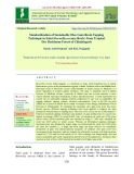 Standardization of sustainable oleo gum resin tapping technique in salai (Boswellia serrata Roxb.) from tropical dry deciduous forest of Chhattisgarh