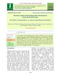 Electrical analysis of solar photovoltaic-thermoelectric generator hybrid system