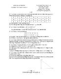 Đề thi học kì 2 môn Toán lớp 7 năm 2019-2020 có đáp án - Trường THCS Nguyễn Huệ