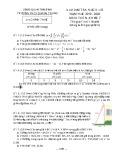 Đề thi học kì 2 môn Toán lớp 7 năm 2019-2020 có đáp án - Trường THCS Quang Trung