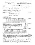 Đề thi học kì 2 môn Toán lớp 7 năm 2019-2020 có đáp án - Trường THCS Lý Phong