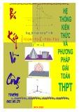 Hệ thống kiến thức và phương pháp giải Toán THPT