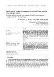Nghiên cứu chế tạo lớp mạ composite Ni/ nano-Al2O3 bền mài mòn bằng công nghệ mạ xoa