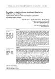 Thí nghiệm xác định ảnh hưởng của thông số động lực học tới độ bền trục các đăng