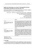 Nghiên cứu ảnh hưởng của các tham số công nghệ đến độ nhám bề mặt khi gia công thép C45 trên máy phay CNC