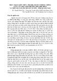 Thực trạng kiến thức, thái độ, hành vi phòng chống cúm A của học sinh trường THCS Phù Đổng và THPT Sào Nam huyện Duy Xuyên - tỉnh Quảng Nam