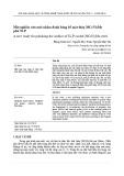 Một nghiên cứu mới nhằm đánh bóng bề mặt thép 20CrNi2Mo phủ Ni-P