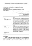 Mô hình hóa và điều khiển hệ thống sản xuất tự động bằng mạng Petri
