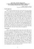 Kiến thức, thái độ, thực hành và một số yếu tố liên quan về phòng, chống lao của người dân thành phố Cà Mau năm 2013
