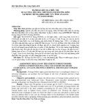 Đánh giá kết quả điều trị dị vật ống tiêu hóa trên bằng nội soi ống mềm tại Bệnh viện Đa khoa khu vực tỉnh An Giang từ 01/2015-09/2016