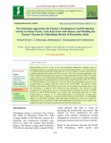 New extension approaches for farmer's participatory seed production activity in onion variety arka kalyan for self-reliance and doubling the farmer's income in Chitradurga district of Karnataka, India